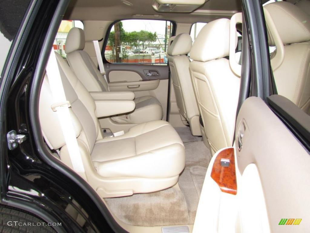 Light Cashmere Dark Cashmere Interior 2011 Chevrolet Tahoe Ltz Photo 48622154