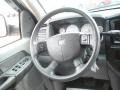 Medium Slate Gray Steering Wheel Photo for 2008 Dodge Ram 3500 #48624582