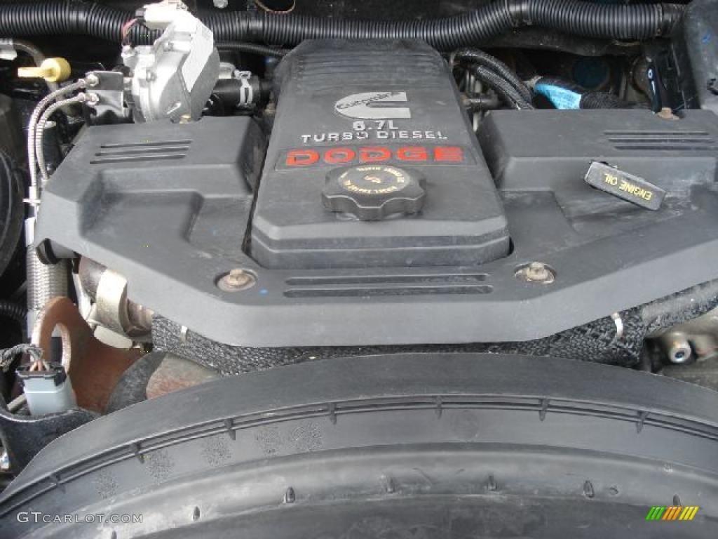 2008 Dodge Ram 3500 ST Quad Cab Dually Engine Photos