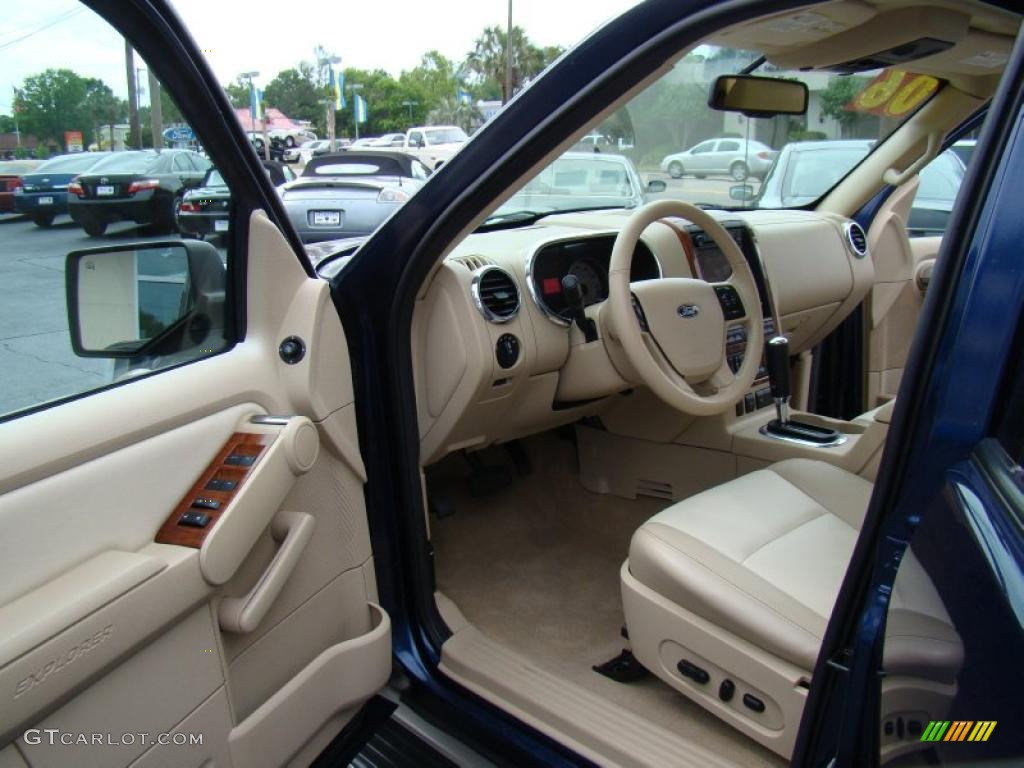 camel stone interior 2006 ford explorer eddie bauer photo 48626127