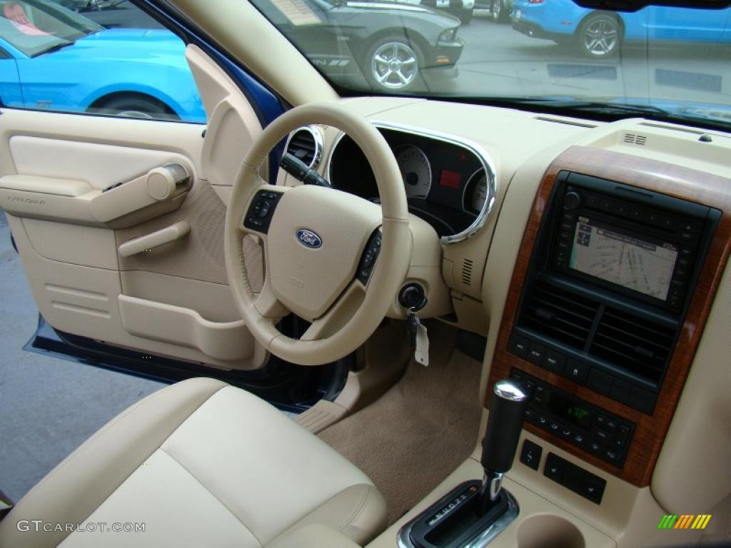 camel stone interior 2006 ford explorer eddie bauer photo