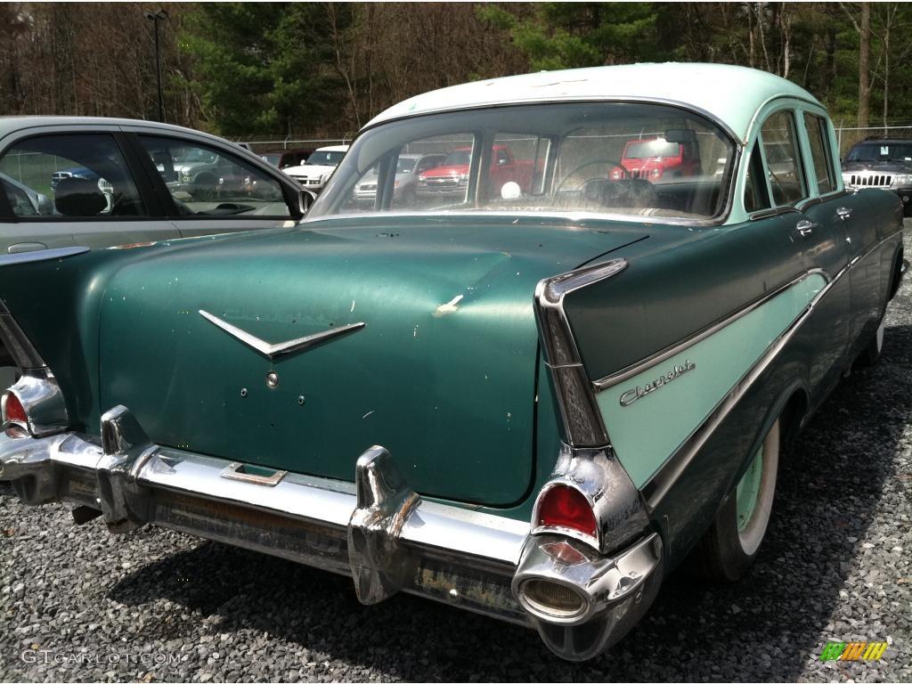 1957 highland green chevrolet 210 4 door 48581453 photo for 1957 chevy 210 4 door
