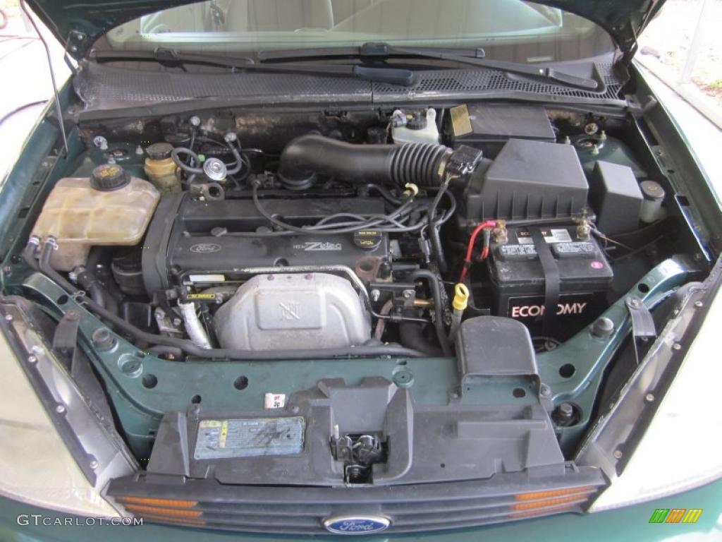 2001 ford focus se sedan 2 0 liter dohc 16 valve zetec 4 cylinder engine photo 48635795. Black Bedroom Furniture Sets. Home Design Ideas
