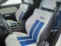 2011 Dodge Challenger Pearl White/Blue Interior Interior Photo