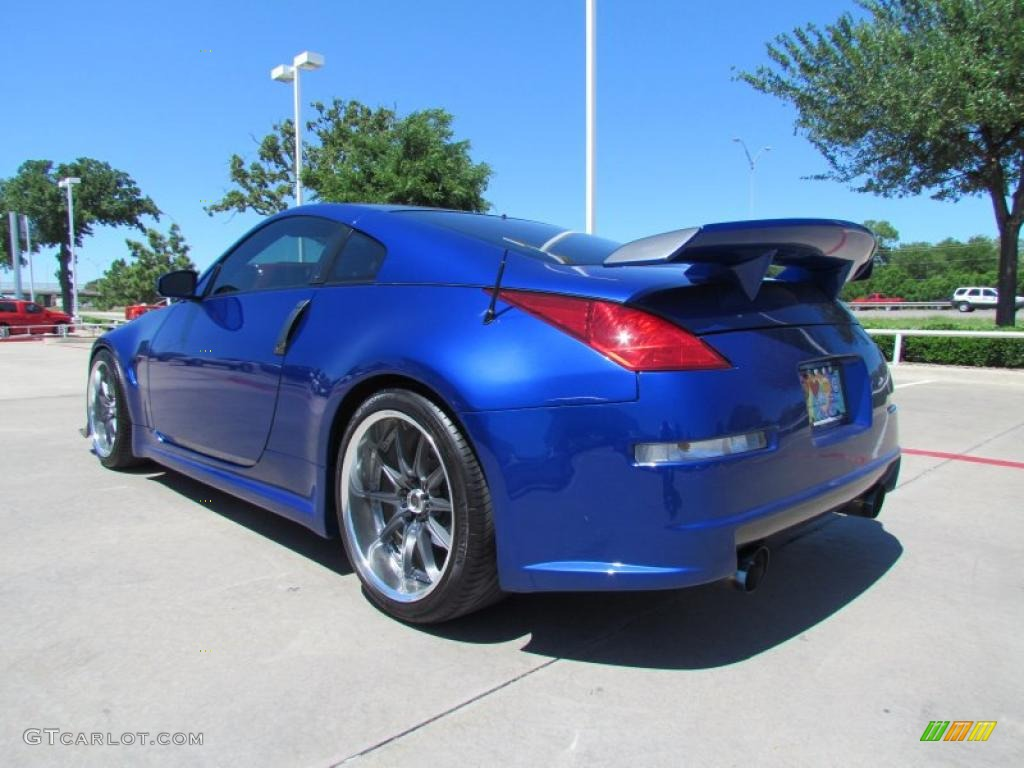2005 daytona blue metallic nissan 350z coupe 48581511 photo 3 car color galleries. Black Bedroom Furniture Sets. Home Design Ideas