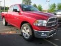 2011 Deep Cherry Red Crystal Pearl Dodge Ram 1500 Big Horn Quad Cab  photo #4