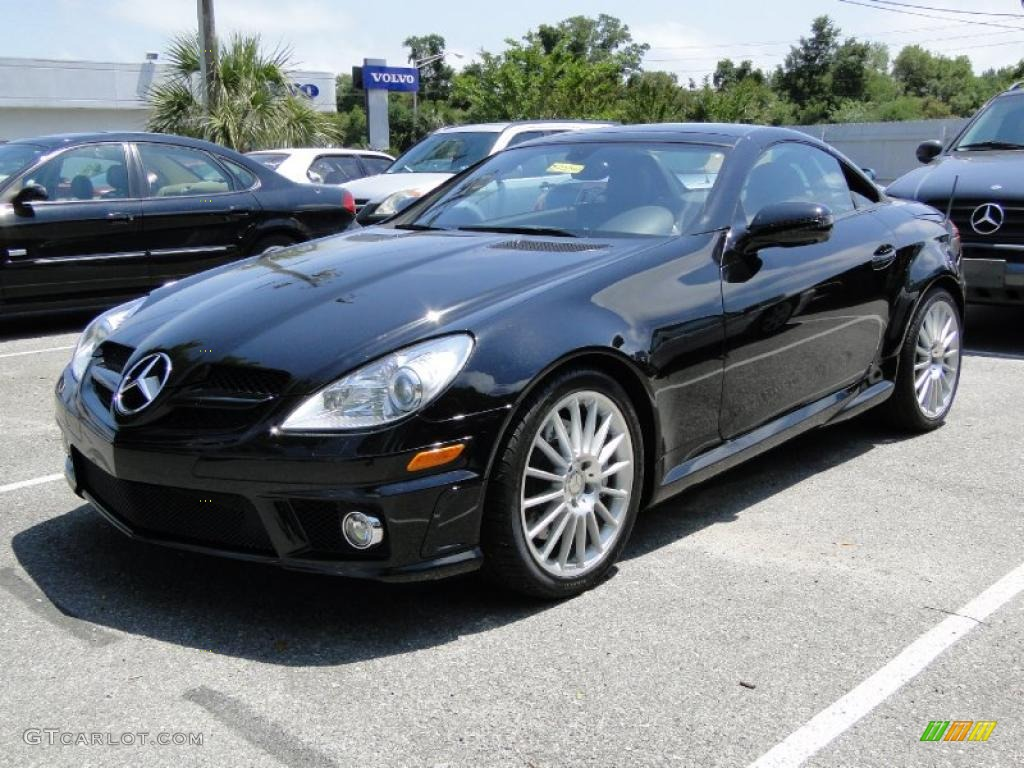 Black 2010 mercedes benz slk 300 roadster exterior photo for 2010 mercedes benz slk300