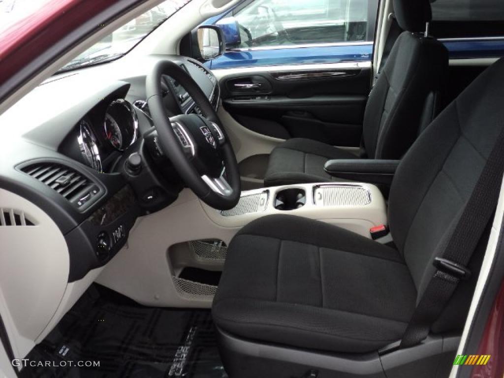 Black Light Graystone Interior 2011 Dodge Grand Caravan Crew Photo 48652303