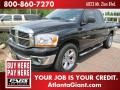 2006 Brilliant Black Crystal Pearl Dodge Ram 1500 SLT Quad Cab  photo #1