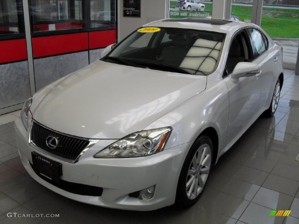2009 glacier frost mica lexus is 250 awd 48521166. Black Bedroom Furniture Sets. Home Design Ideas