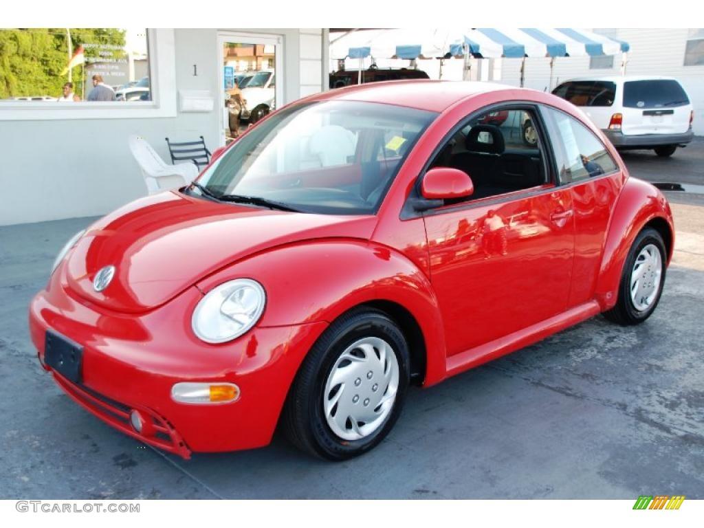 1998 Tornado Red Volkswagen New Beetle 2.0 Coupe #48663641 | GTCarLot ...