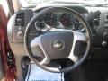 Dark Titanium Steering Wheel Photo for 2008 Chevrolet Silverado 1500 #48665676