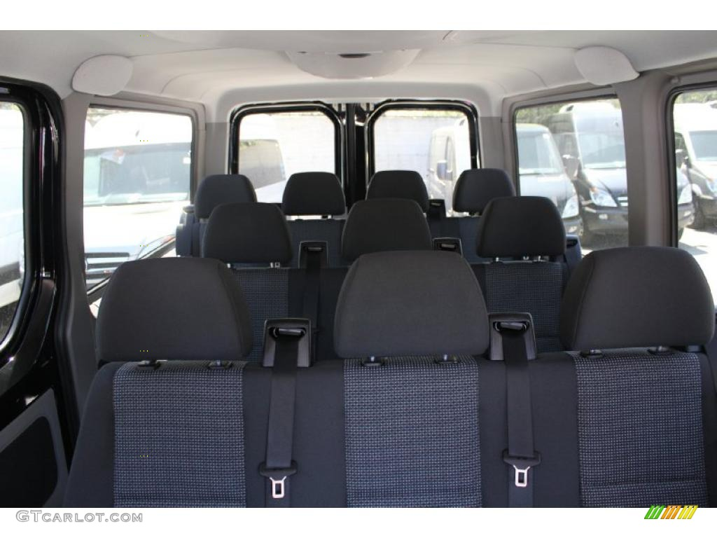 2010 Mercedes Benz Sprinter 2500 Passenger Van Interior