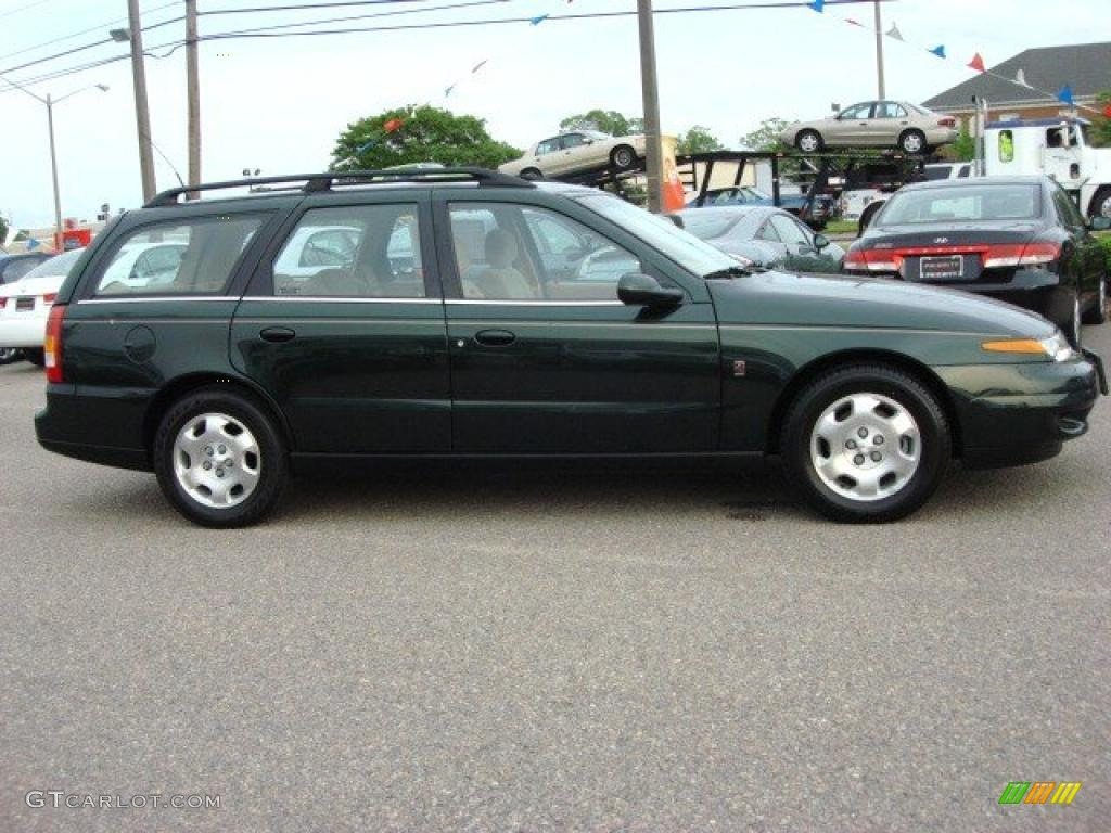 Green 2002 saturn l series lw300 wagon exterior photo 48676930