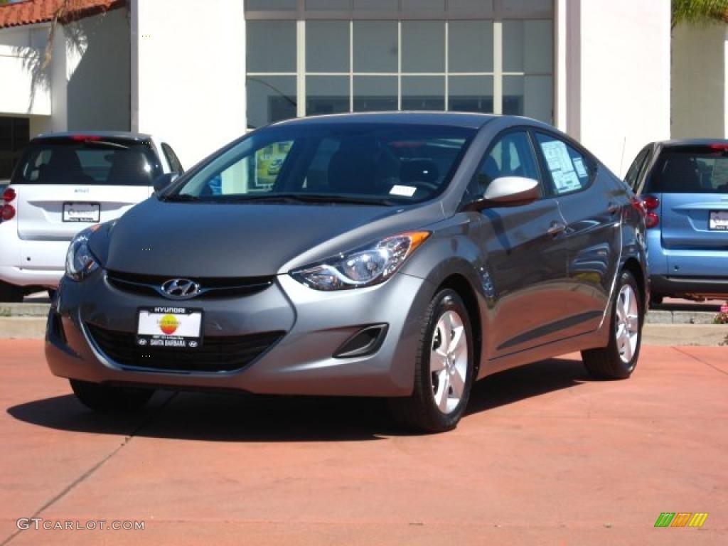 2011 Titanium Gray Metallic Hyundai Elantra Gls 48663251