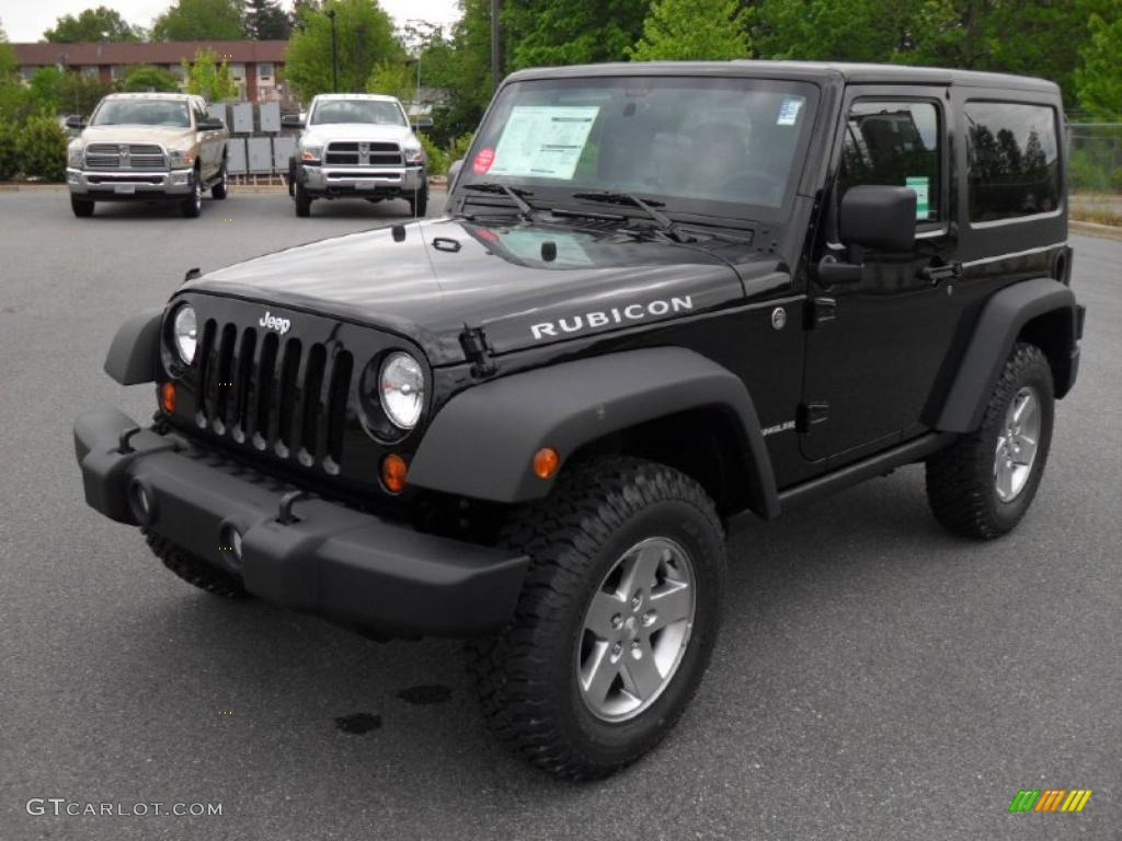 2011 black jeep wrangler rubicon 4x4 48663899 car color galleries. Black Bedroom Furniture Sets. Home Design Ideas