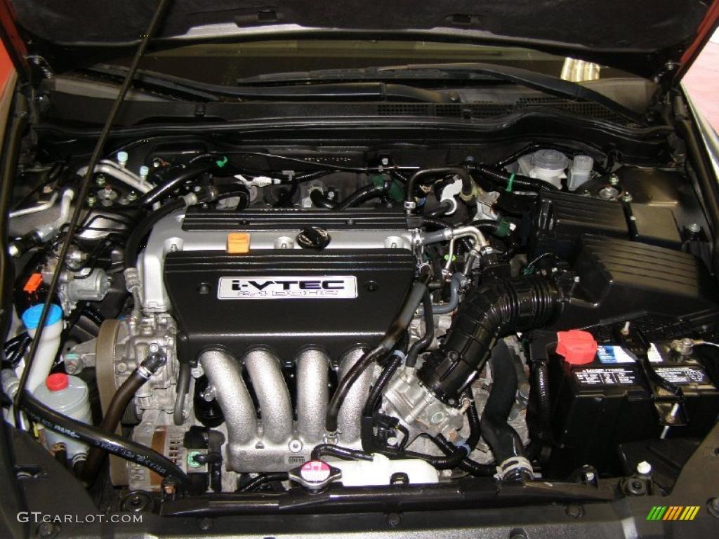 2007 Honda Accord Ex Sedan 2 4l Dohc 16v I