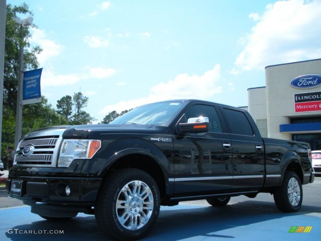 2011 tuxedo black metallic ford f150 platinum supercrew 4x4 48663334 car color. Black Bedroom Furniture Sets. Home Design Ideas