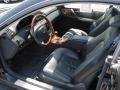 2002 CL 500 Charcoal Interior