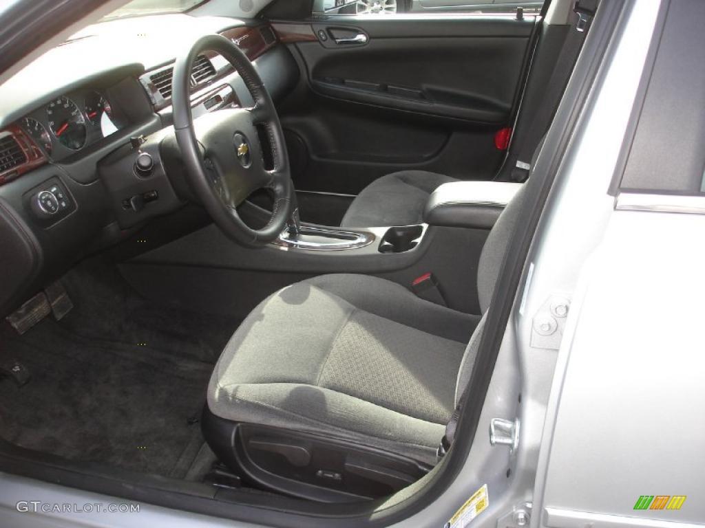 Ebony Interior 2011 Chevrolet Impala Lt Photo 48703348