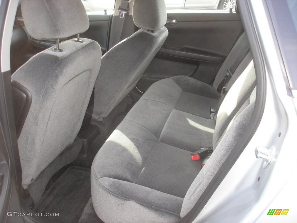 Ebony Interior 2011 Chevrolet Impala Lt Photo 48703366