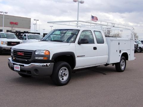 2007 gmc sierra 2500hd classic extended cab 4x4 utility. Black Bedroom Furniture Sets. Home Design Ideas
