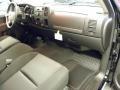 2011 Black Chevrolet Silverado 1500 LT Extended Cab  photo #7