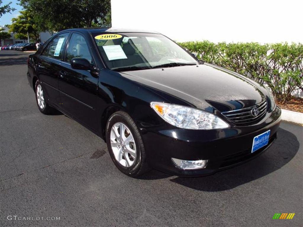 2006 black toyota camry xle v6 48663168 car color galleries. Black Bedroom Furniture Sets. Home Design Ideas