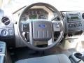 Medium Stone Steering Wheel Photo for 2010 Ford F350 Super Duty #48715606