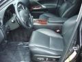 Black Interior Photo for 2008 Lexus IS #48715871