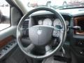 2006 Black Dodge Ram 1500 SLT Quad Cab 4x4  photo #15
