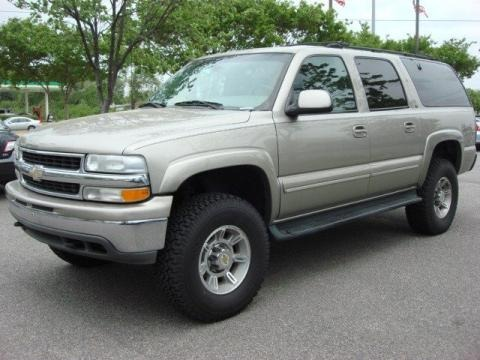 2001 Chevrolet Suburban 1500 LT 4x4 Data, Info and Specs