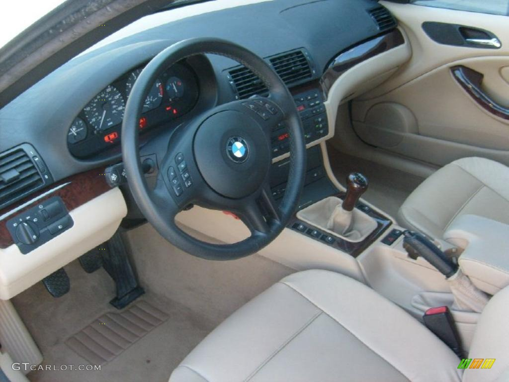 Sand Interior 2003 Bmw 3 Series 325i Convertible Photo