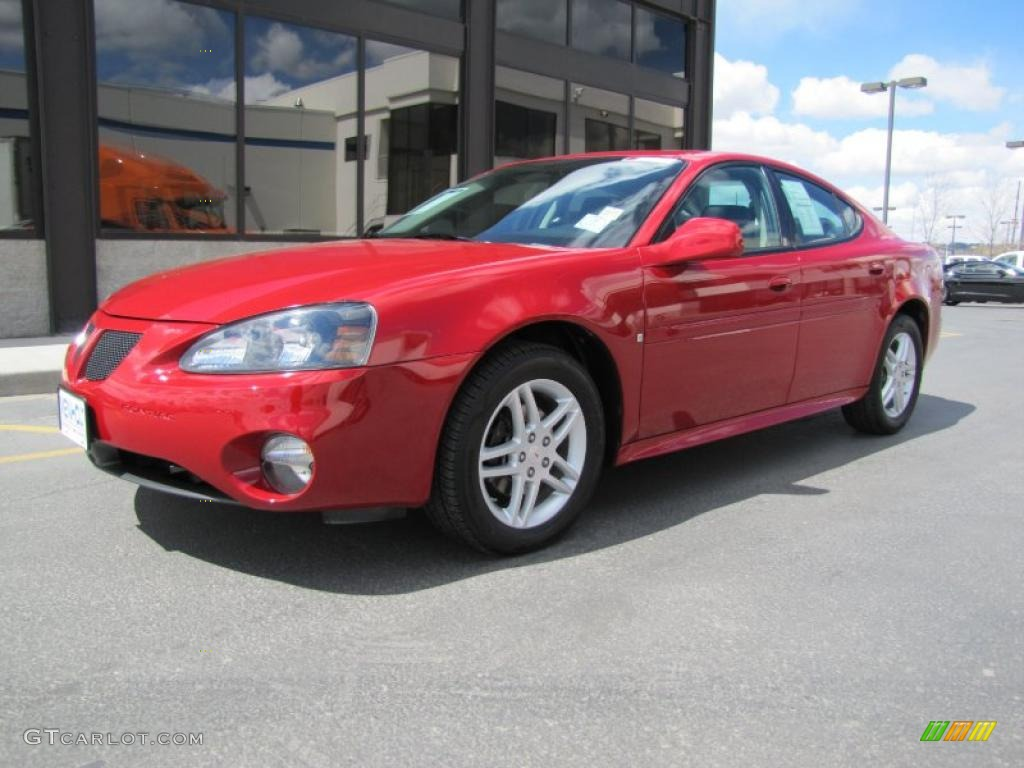 2007 crimson red pontiac grand prix gt sedan 48663789 car color galleries. Black Bedroom Furniture Sets. Home Design Ideas
