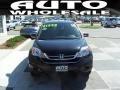 2010 Crystal Black Pearl Honda CR-V EX  photo #2