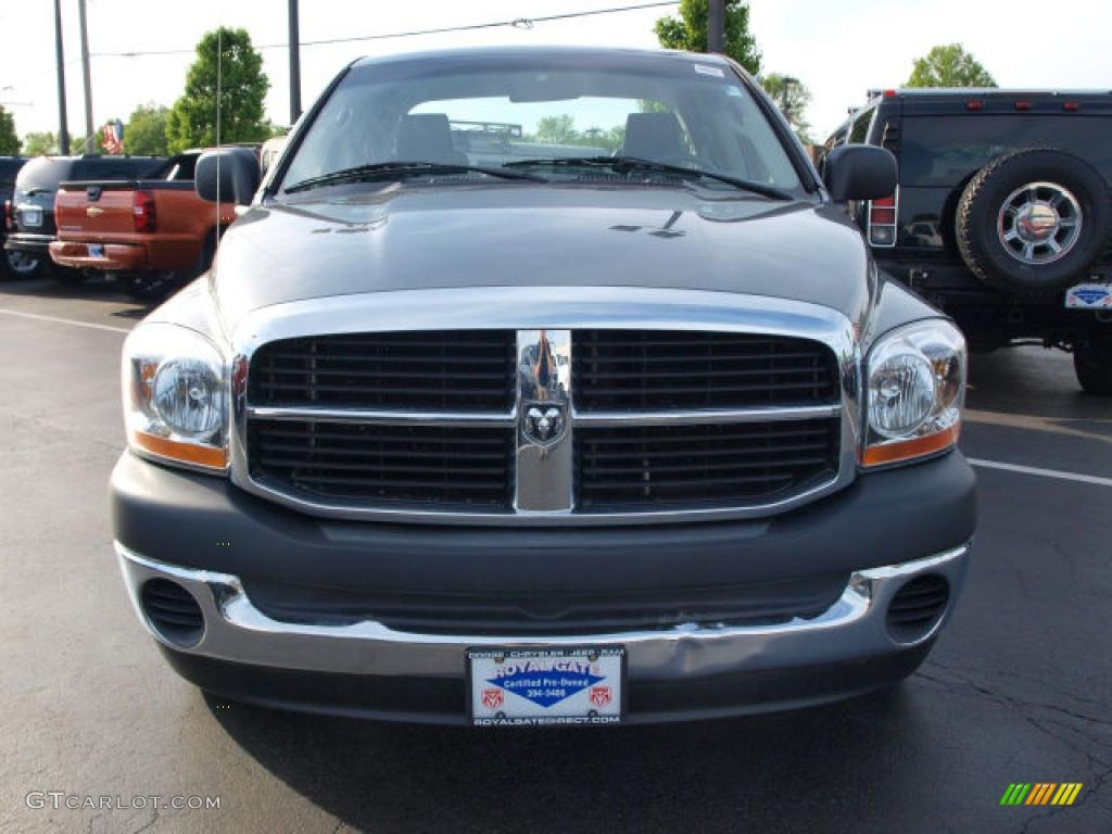 2006 Ram 1500 ST Quad Cab - Mineral Gray Metallic / Medium Slate Gray photo #8