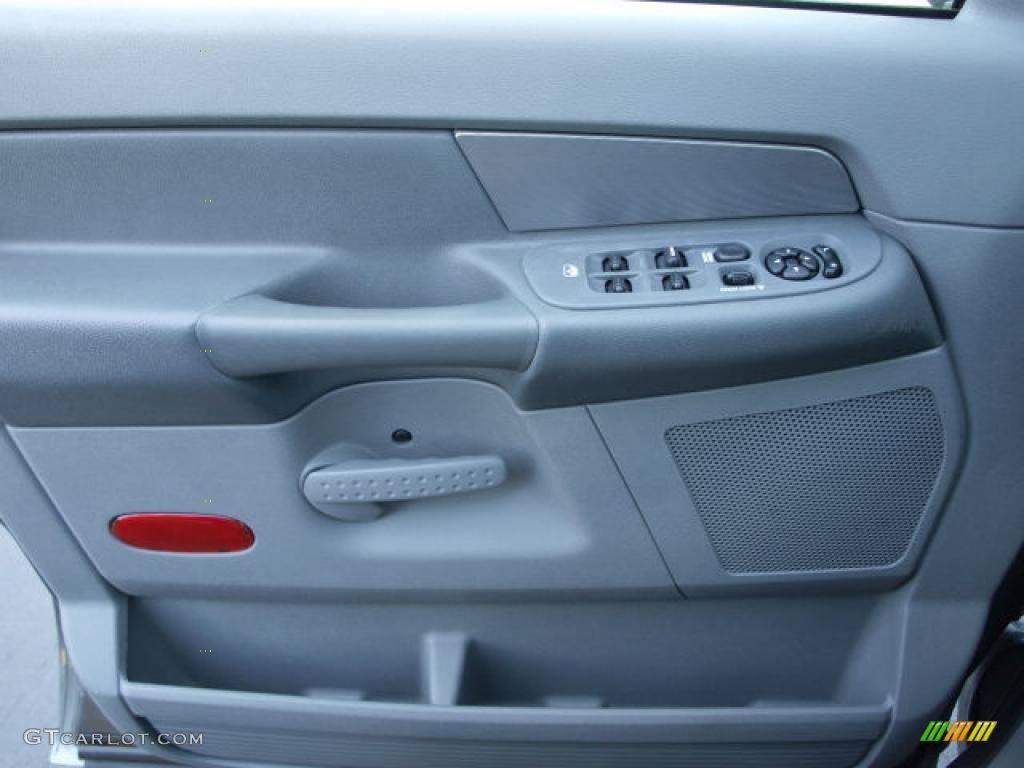 2006 Ram 1500 ST Quad Cab - Mineral Gray Metallic / Medium Slate Gray photo #15