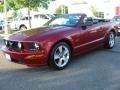 2006 Redfire Metallic Ford Mustang GT Premium Convertible  photo #6