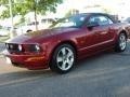 2006 Redfire Metallic Ford Mustang GT Premium Convertible  photo #23