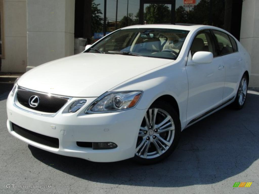 starfire white pearl 2007 lexus gs 450h hybrid exterior. Black Bedroom Furniture Sets. Home Design Ideas