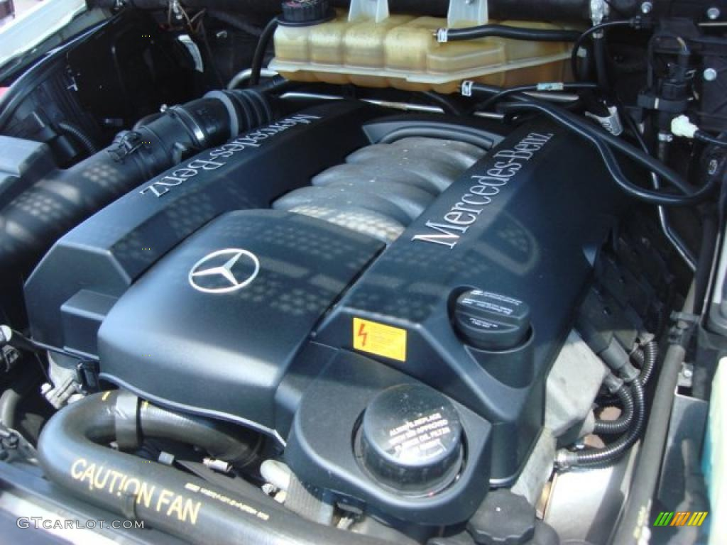 2005 mercedes benz ml 500 4matic 5 0 liter sohc 24 valve for Mercedes benz v8 engine