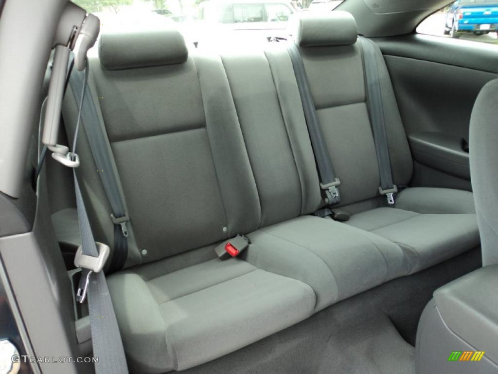 Dark Stone Interior 2006 Toyota Solara Se Coupe Photo
