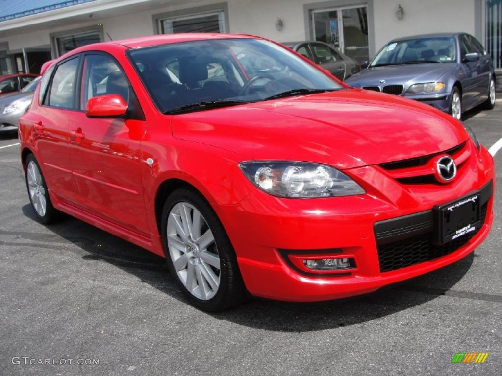 2008 true red mazda mazda3 mazdaspeed grand touring 48731757 car color galleries. Black Bedroom Furniture Sets. Home Design Ideas