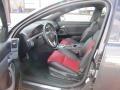 Onyx/Red Interior Photo for 2009 Pontiac G8 #48748494