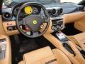 2007 Ferrari 599 GTB Fiorano Beige Interior Prime Interior Photo