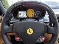 2007 Ferrari 599 GTB Fiorano Beige Interior Steering Wheel Photo