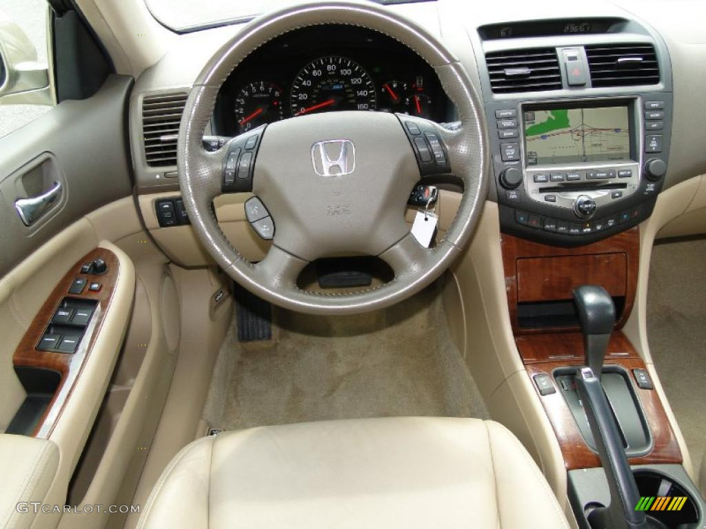 ivory interior 2007 honda accord hybrid sedan photo. Black Bedroom Furniture Sets. Home Design Ideas