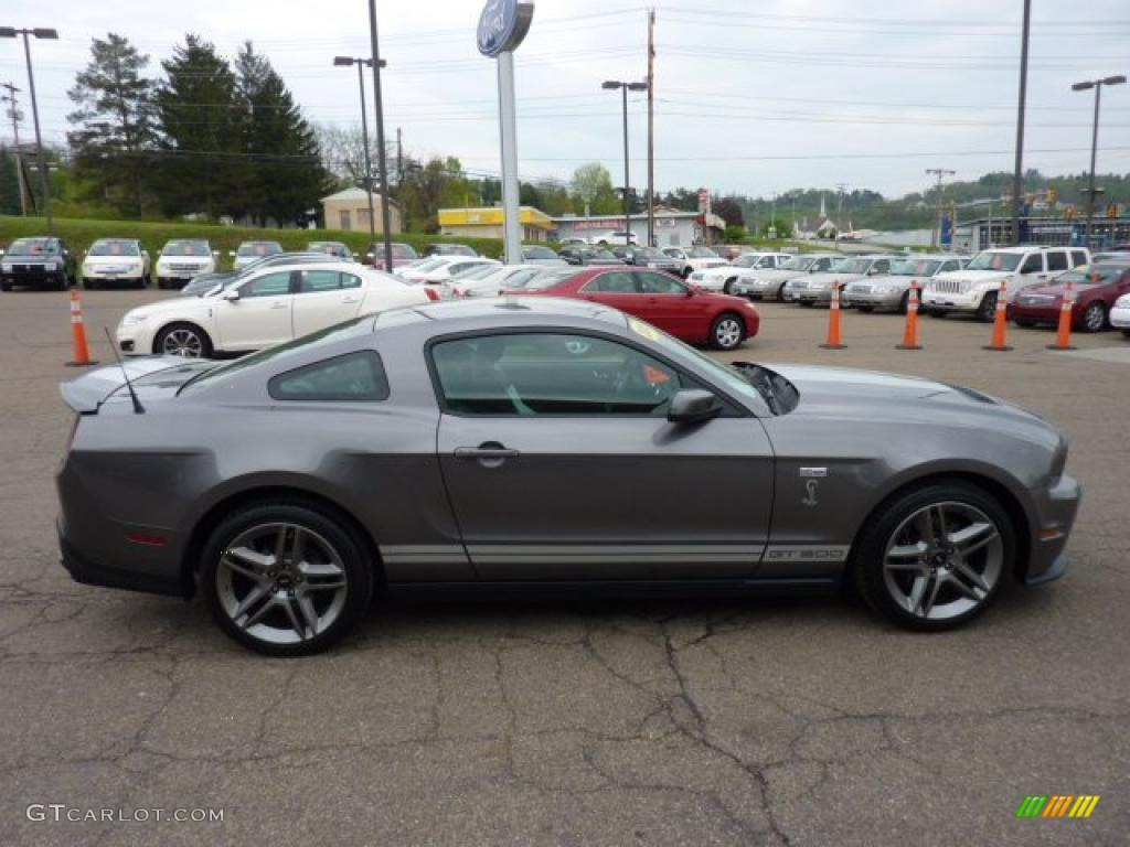 Sterling Grey Metallic 2010 Ford Mustang Shelby Gt500