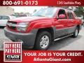 Victory Red 2003 Chevrolet Avalanche 1500