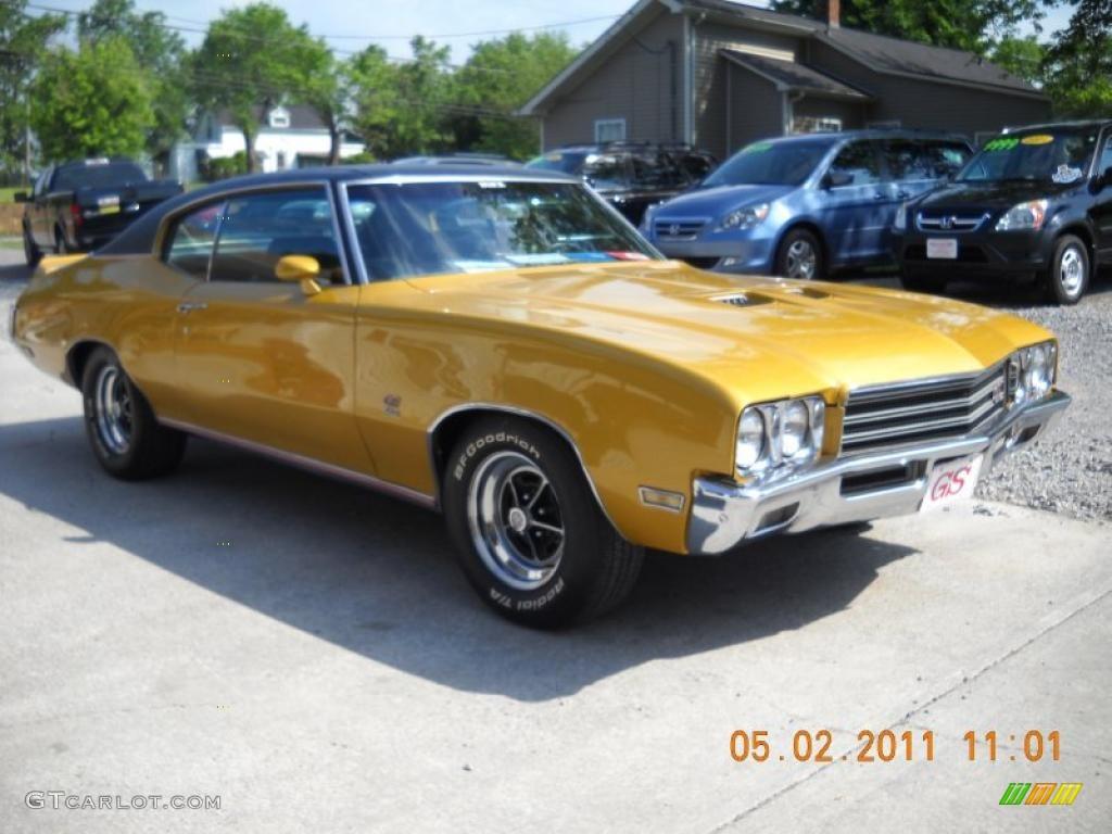 1971 Cortez Gold Buick Skylark GS 455 #48770318 | GTCarLot.com - Car ...